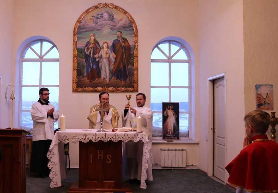 Приход Святого Семейства пгт Яшкино 2