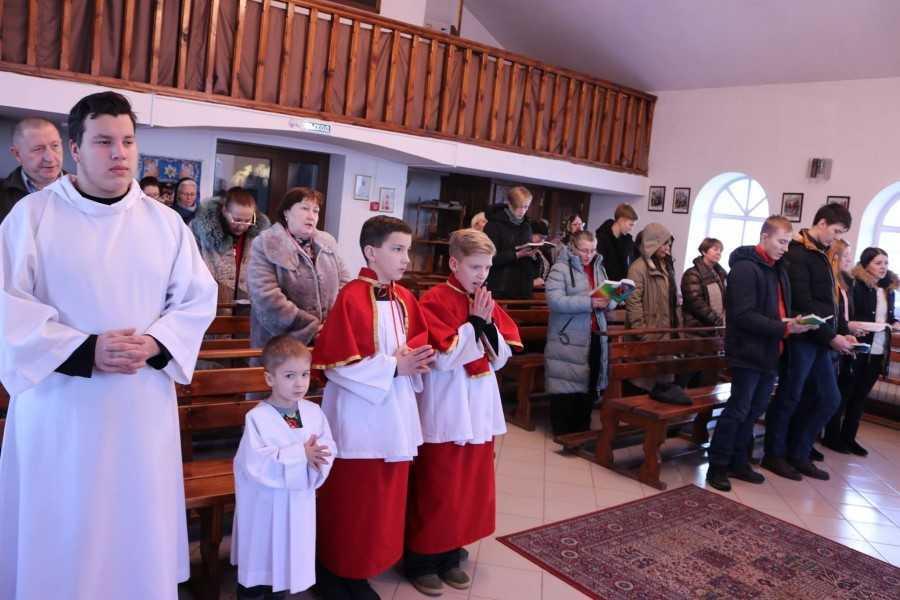 Приход Святого Семейства пгт Яшкино 3