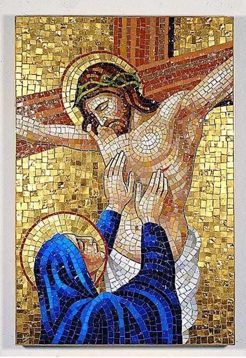 Крестный путь с размышлениями Св. Иоанна Павла II. 12