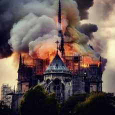 Обращение председателя Конференции католических епископов России в связи с пожаром в соборе Парижской Богоматери
