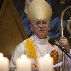 Проповедь Владыки Иосифа Верта на Мессе Святой Пасхальной Ночи.