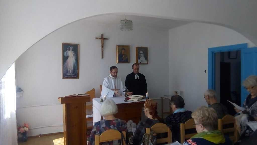 Теплый день в общие Святой Терезы в г. Анжеро- Судженск 1