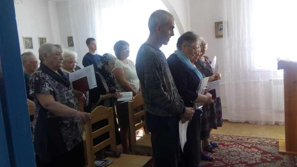 Теплый день в общие Святой Терезы в г. Анжеро- Судженск 2