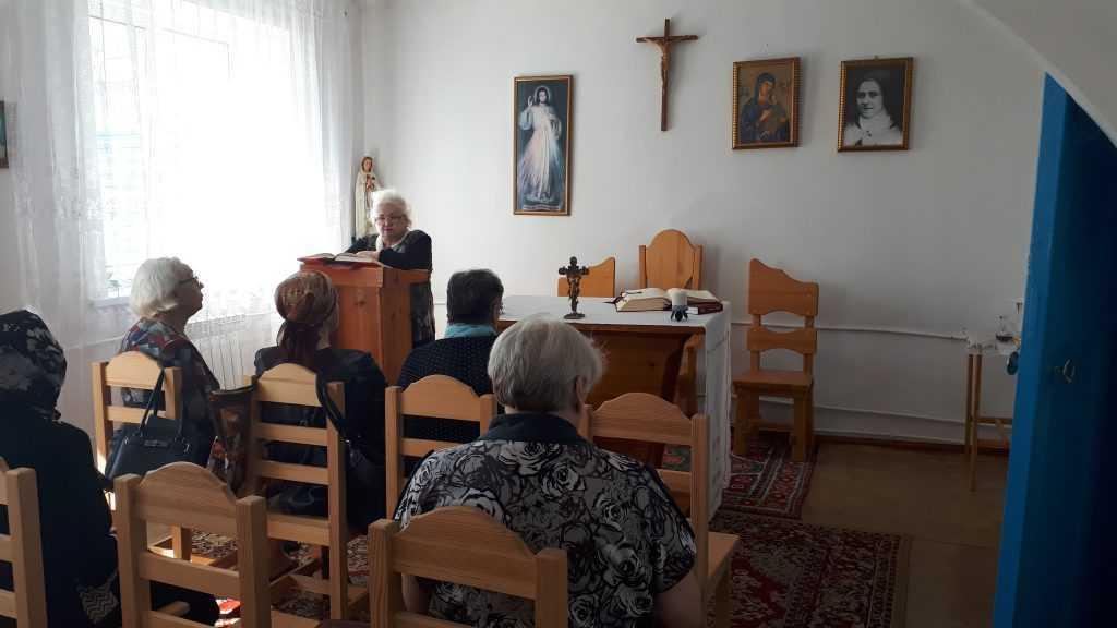 Теплый день в общие Святой Терезы в г. Анжеро- Судженск 4