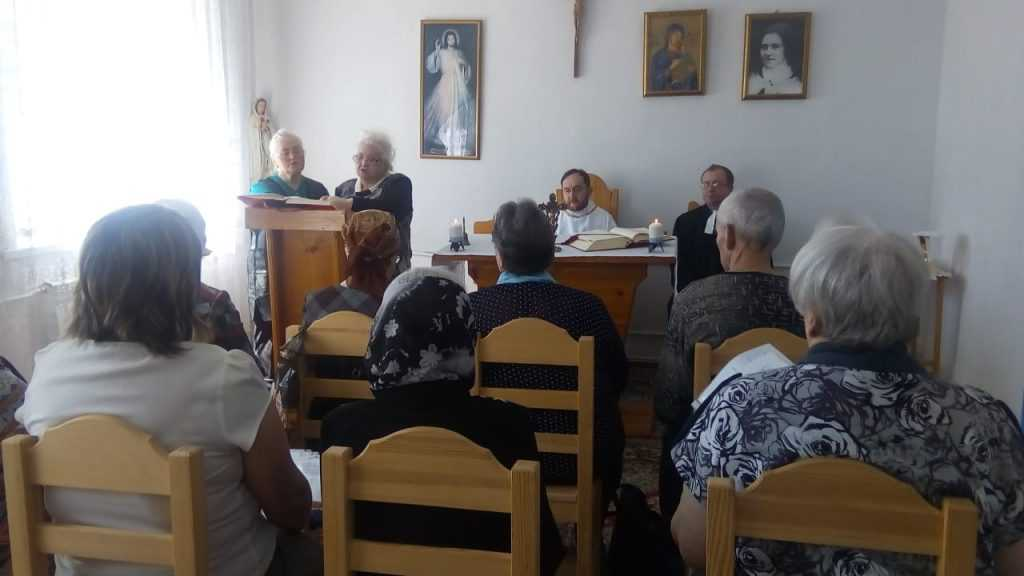 Теплый день в общие Святой Терезы в г. Анжеро- Судженск 5