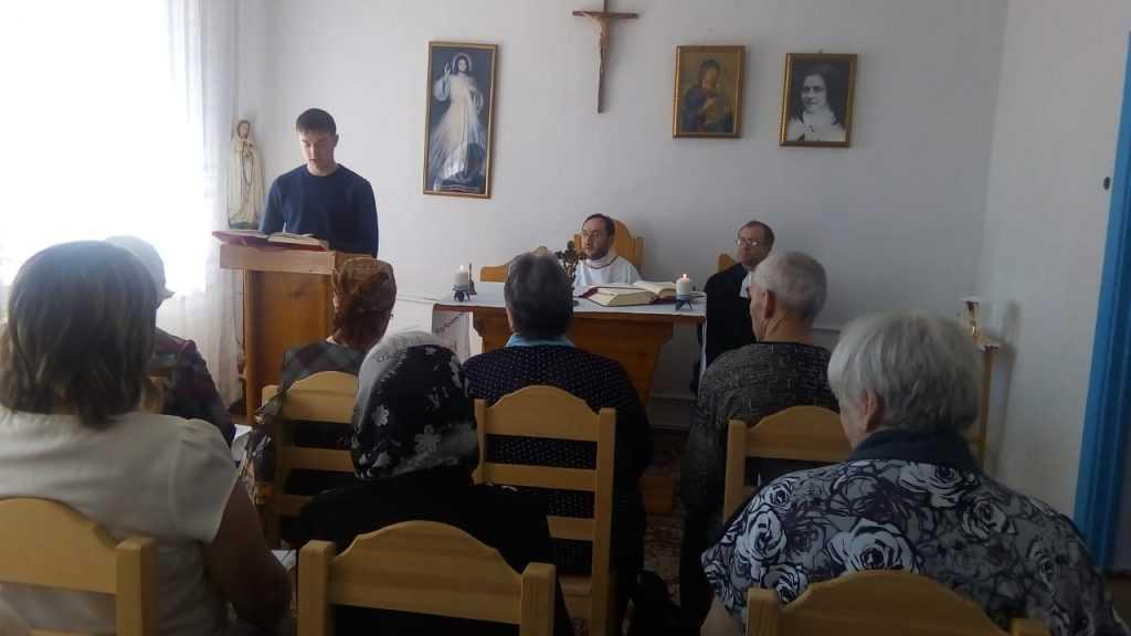 Теплый день в общие Святой Терезы в г. Анжеро- Судженск 6