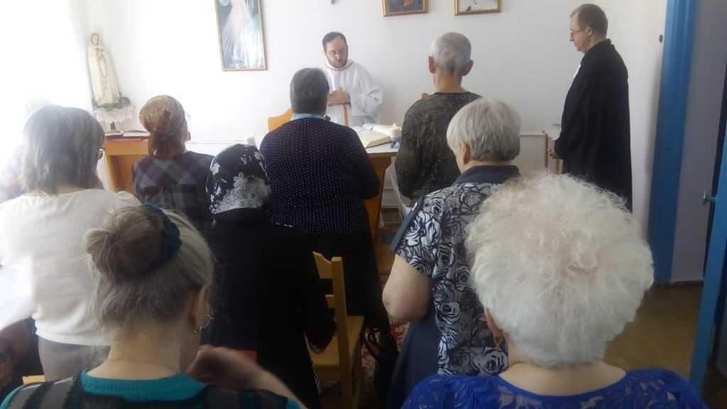 Теплый день в общие Святой Терезы в г. Анжеро- Судженск 8