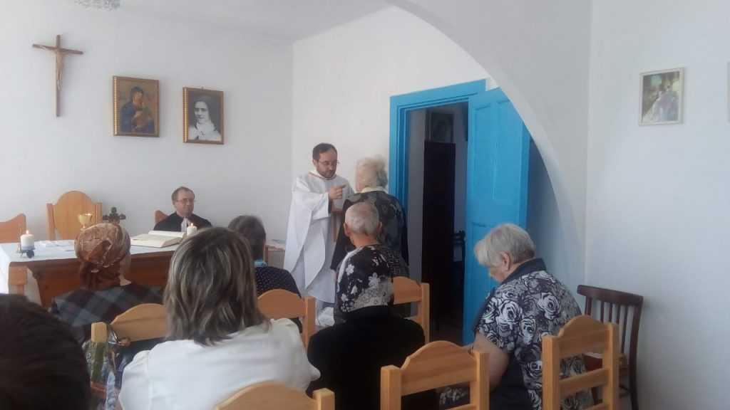 Теплый день в общие Святой Терезы в г. Анжеро- Судженск 11