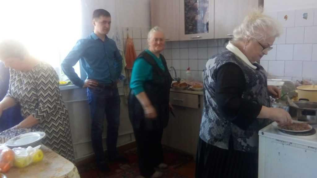 Теплый день в общие Святой Терезы в г. Анжеро- Судженск 15