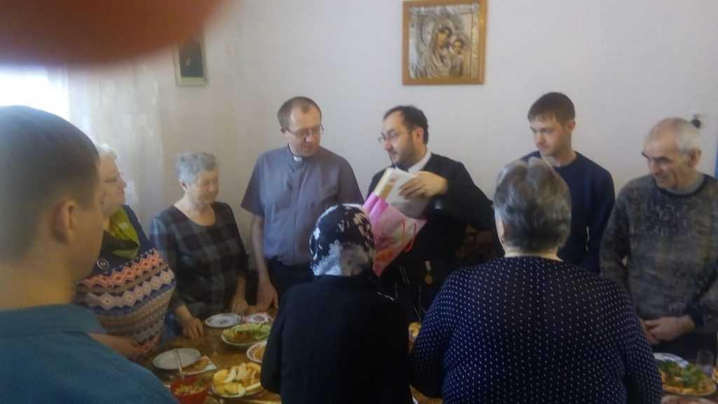 Теплый день в общие Святой Терезы в г. Анжеро- Судженск 18