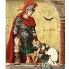 4 мая — Св. Флориан Лорхский — мученик неразделенной христианской церкви
