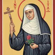 22 мая –  св. Святая Рита из Кашии, память