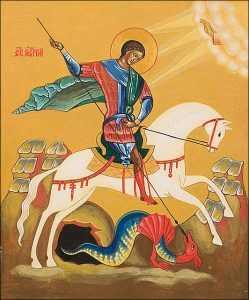 6 мая. Святой Георгий (Победоносец), мученик. Память 1