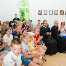 Приход Святого Духа в Юрге праздновал 20 лет освящения храма