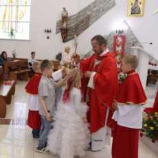 Торжество Сошествия Святого Духа — закрытие «Воскресной школы»