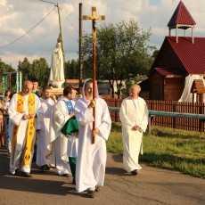 6 июля,  Фатимское богослужение в общине Матери Божьей Неустанной Помощи в с. Колыон