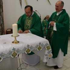 Введение отца Павла в должность настоятеля