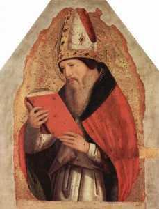 28 августа. Святой Августин, епископ и Учитель Церкви. Память 1