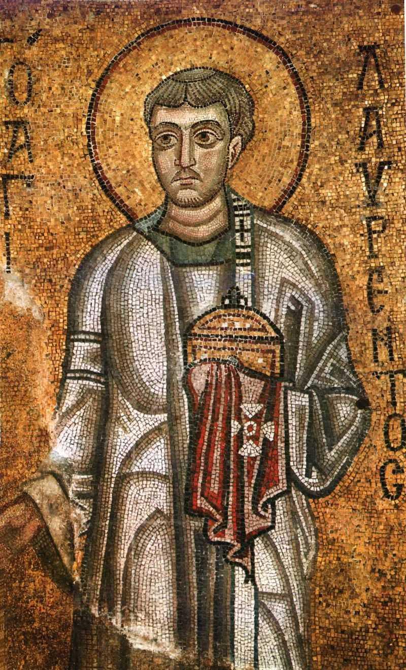 10 августа. Святой Лаврентий, диакон и мученик. Праздник 1