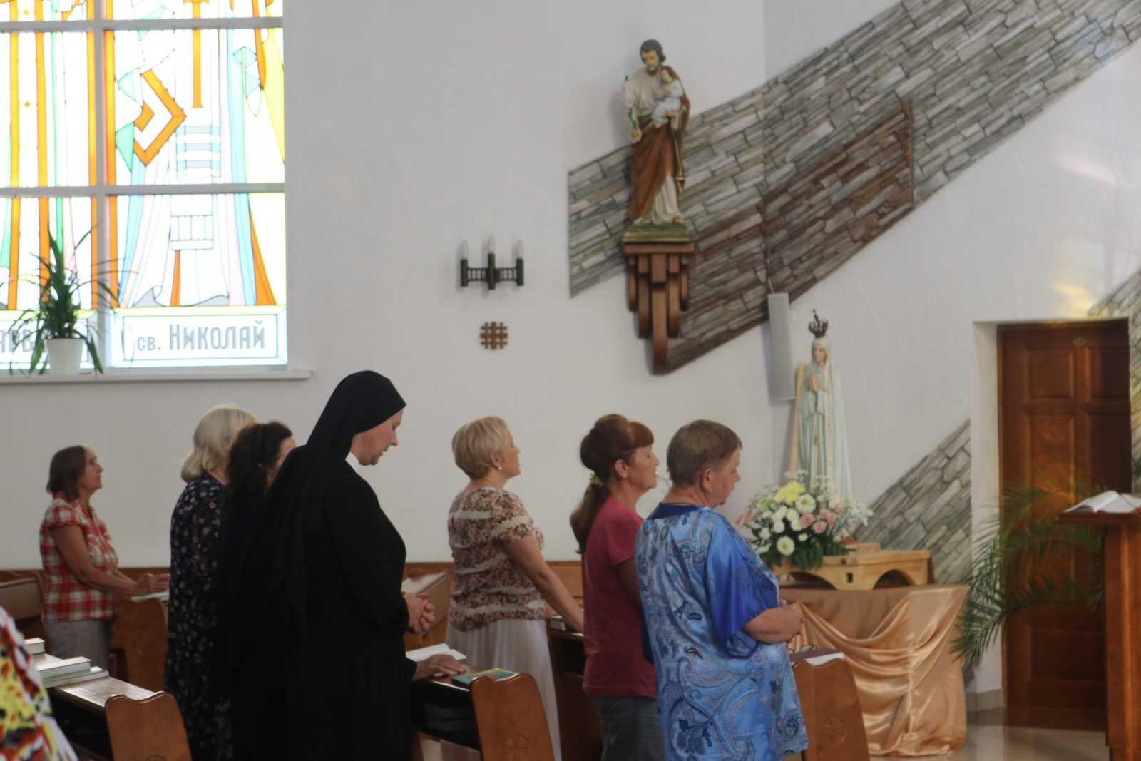 Фатимское Богослужение в Храме Непорочного Сердца Пресвятой Девы Марии 1