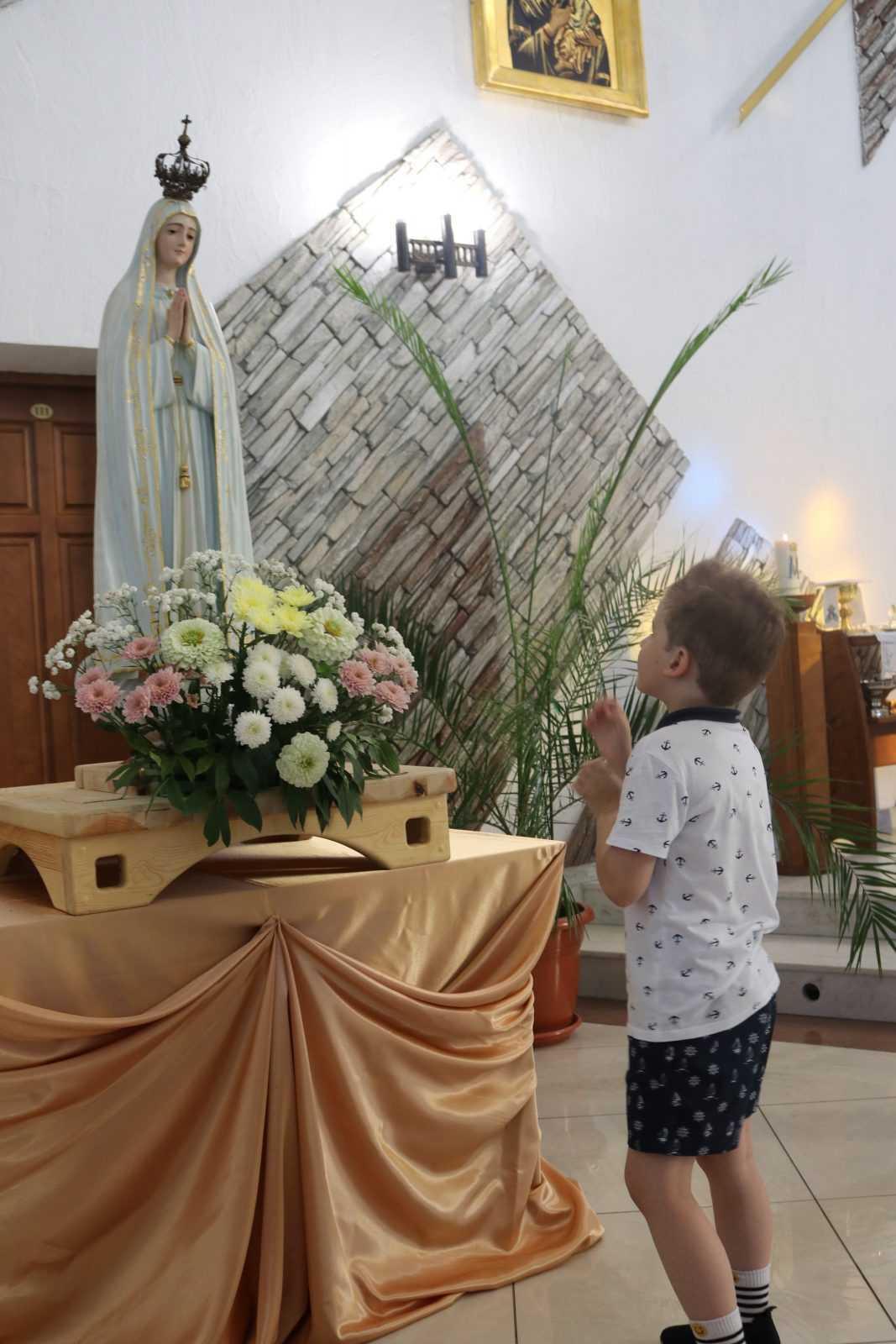 Фатимское Богослужение в Храме Непорочного Сердца Пресвятой Девы Марии 4