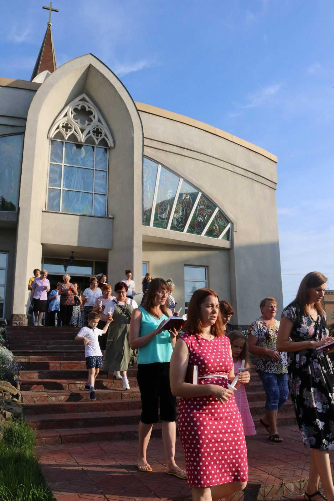 Фатимское Богослужение в Храме Непорочного Сердца Пресвятой Девы Марии 7