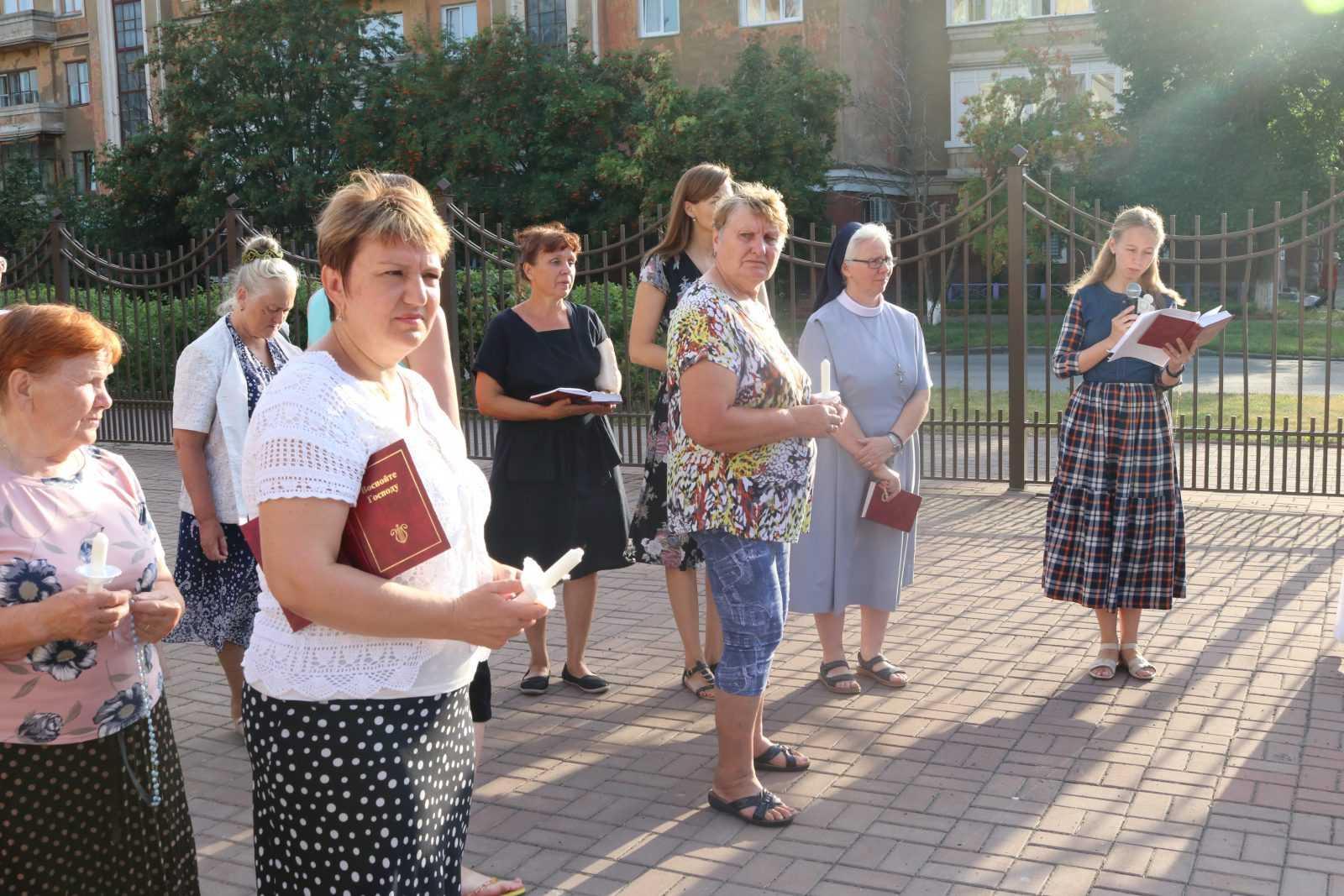 Фатимское Богослужение в Храме Непорочного Сердца Пресвятой Девы Марии 8