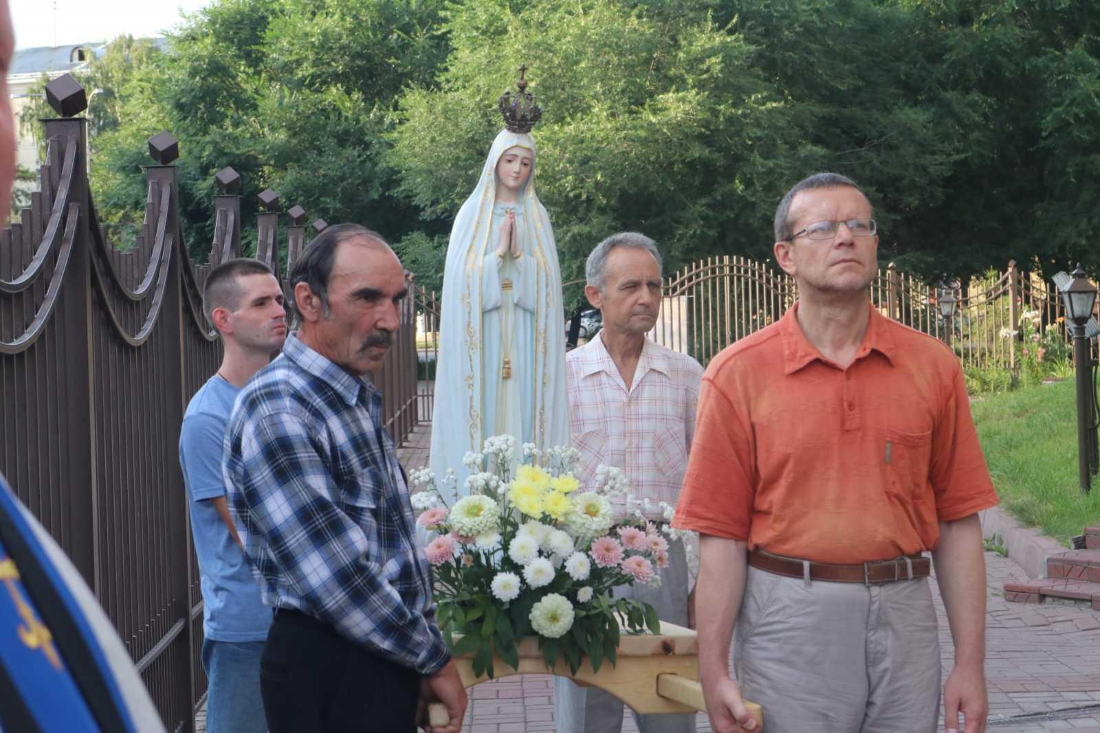 Фатимское Богослужение в Храме Непорочного Сердца Пресвятой Девы Марии 12