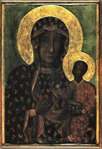 Пресвятая Дева Мария Ченстоховская 2
