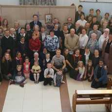 Кемеровский приход отпраздновал десятилетний юбилей освящения храма