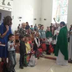 1 сентября, начало нового учебного года, освящение школьных принадлежностей
