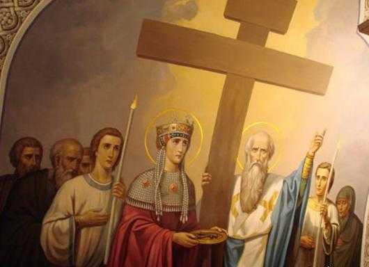 14 сентября. Воздвижение Святого Креста Господня. Праздник 2