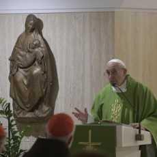 Папа: сострадание – это язык Бога