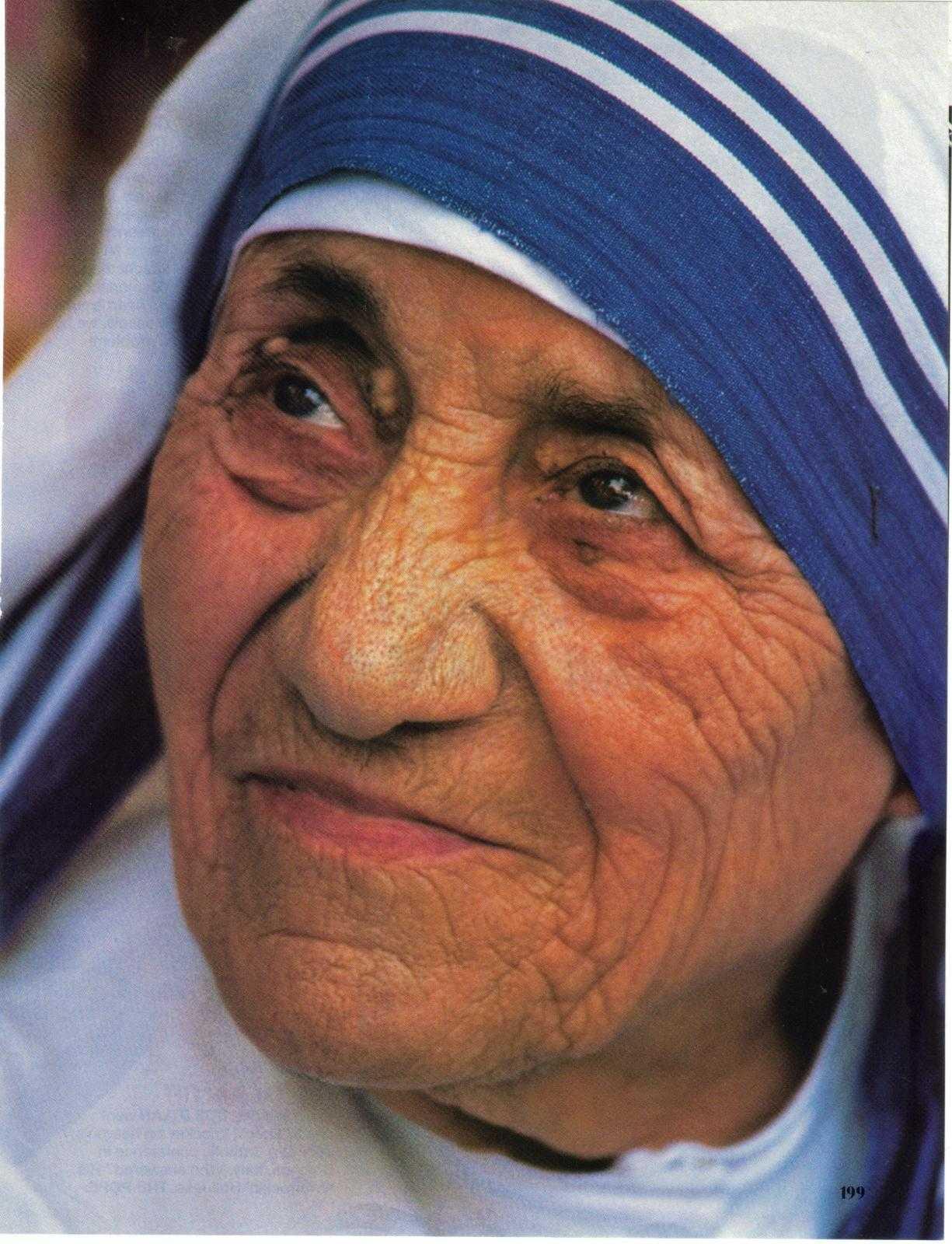 5 сентября. Святая Тереза Калькуттская (Мать Тереза), дева. Память 1