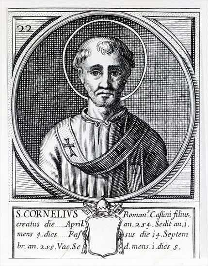 16 сентября. Святые Корнелий, Папа, и Киприан Карфагенский, епископ, мученики. Память 1