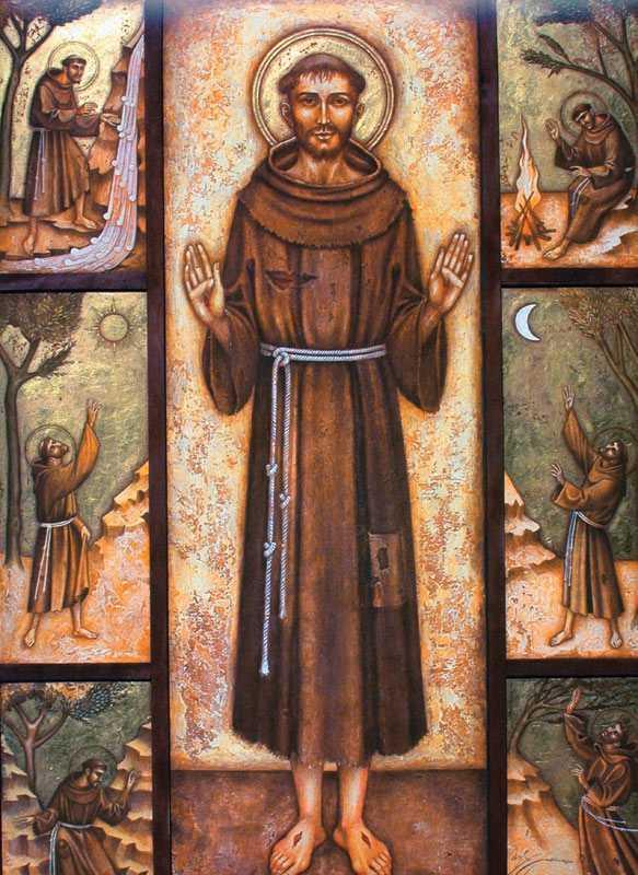 4 октября. Святой Франциск Ассизский. Память 2