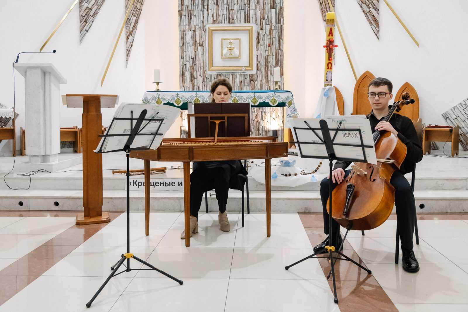 Музыка в храме КОНЦЕРТ «МАСТЕРА БАРОККО» 26.10.2019 10