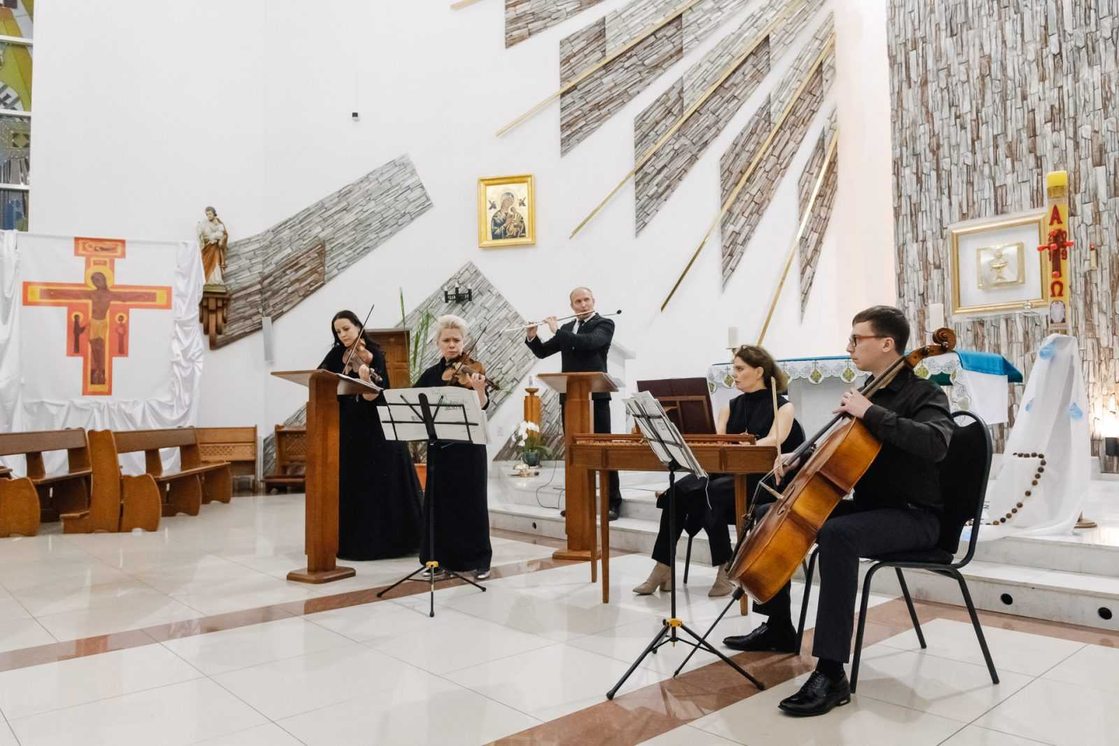 Музыка в храме КОНЦЕРТ «МАСТЕРА БАРОККО» 26.10.2019 27
