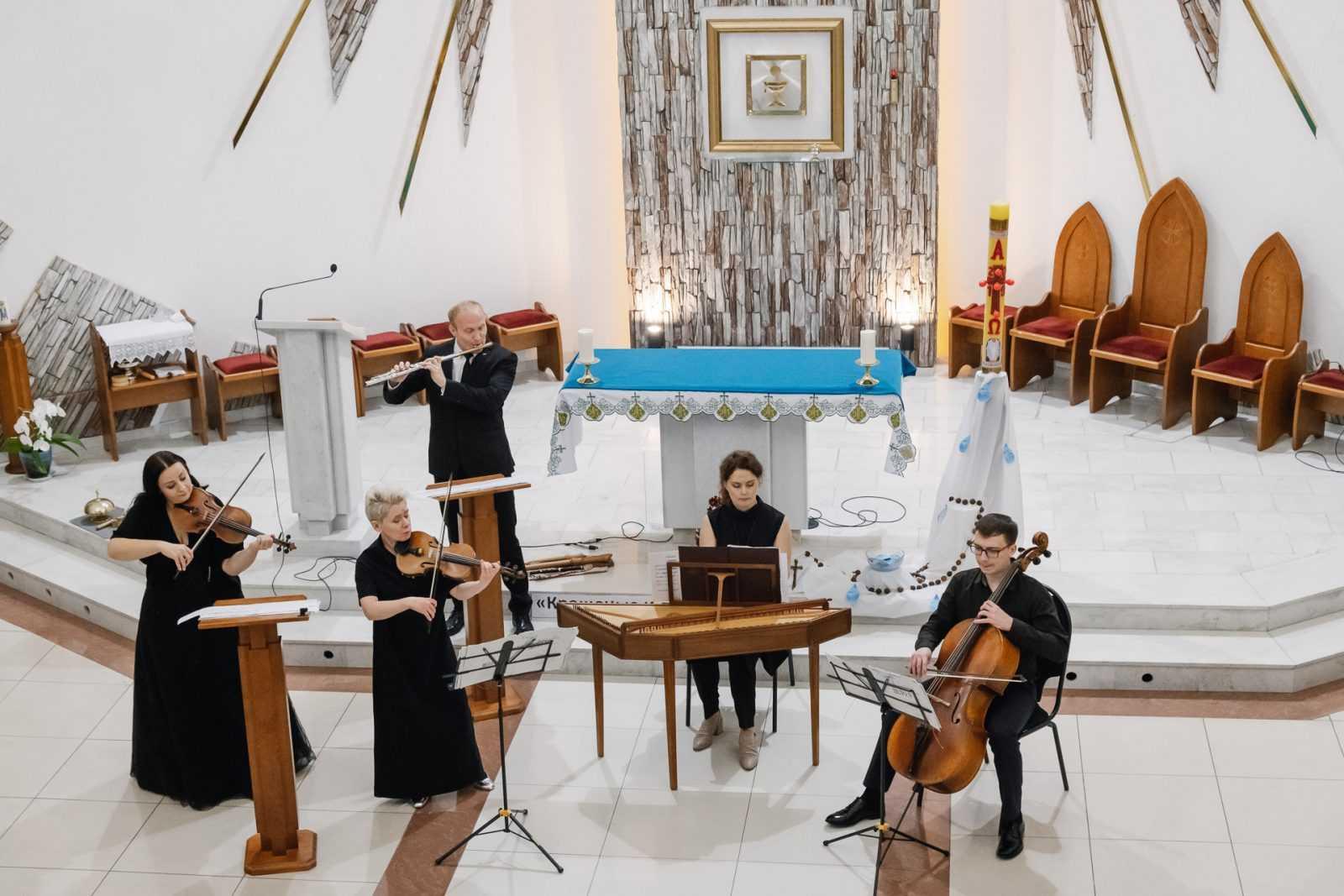 Музыка в храме КОНЦЕРТ «МАСТЕРА БАРОККО» 26.10.2019 29