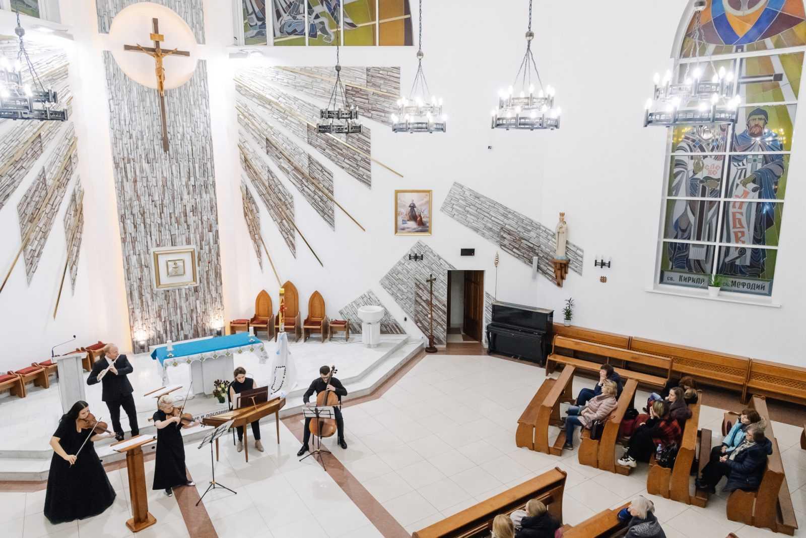 Музыка в храме КОНЦЕРТ «МАСТЕРА БАРОККО» 26.10.2019 32