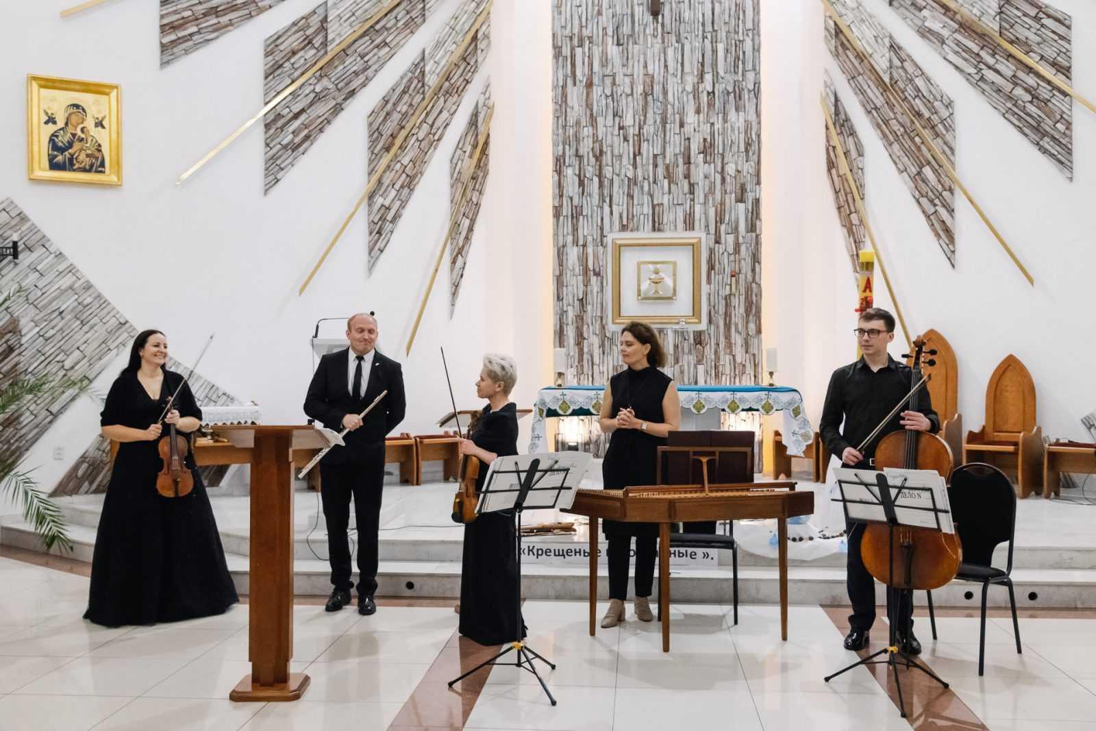 Музыка в храме КОНЦЕРТ «МАСТЕРА БАРОККО» 26.10.2019 43