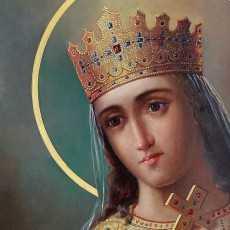 25 ноября — св. Екатерина Александрийская, дева и мученица