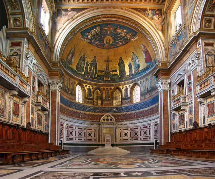 9 ноября. Годовщина освящения Латеранской базилики. Праздник 2