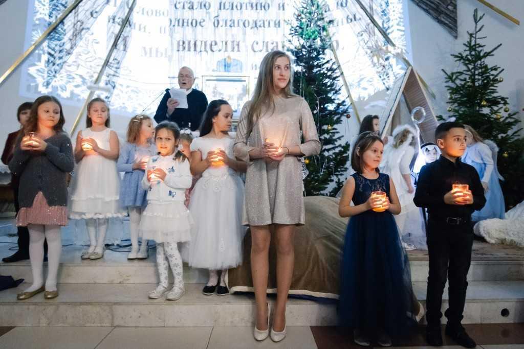 """Рождественский фестиваль """"У вифлеемских яслей"""" 5"""