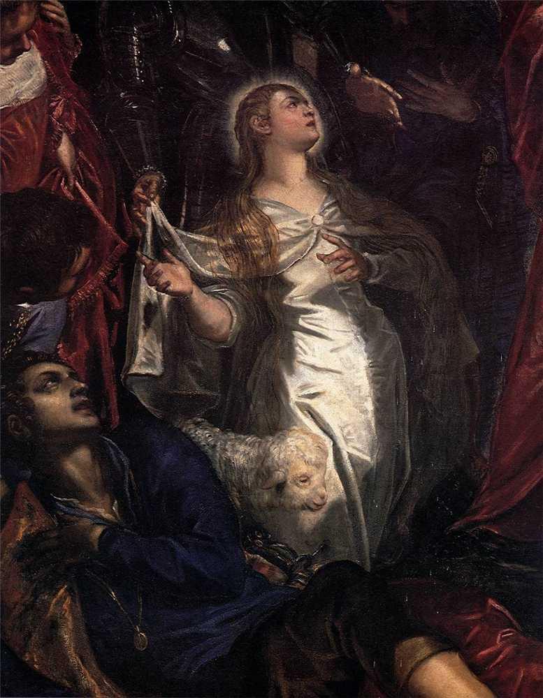 21 января. Святая Агнесса (Агния), дева и мученица. Память 3