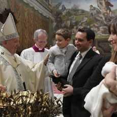 Слово Папы Франциска перед чтением молитвы «Ангел Господень» в праздник Крещения Господня.