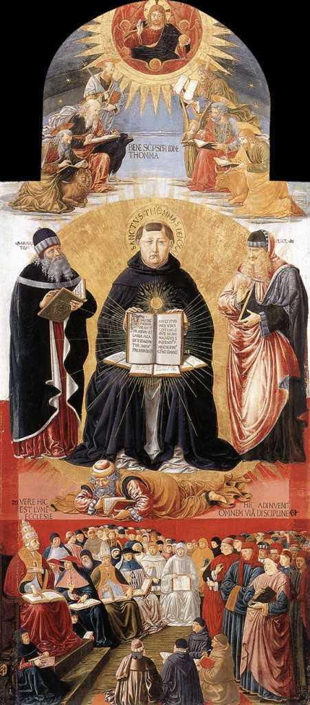 28 января. Святой Фома Аквинский, священник и Учитель Церкви. Память 3