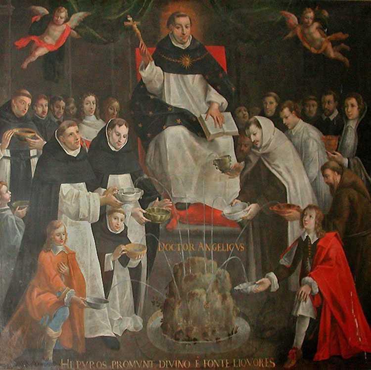 28 января. Святой Фома Аквинский, священник и Учитель Церкви. Память 4