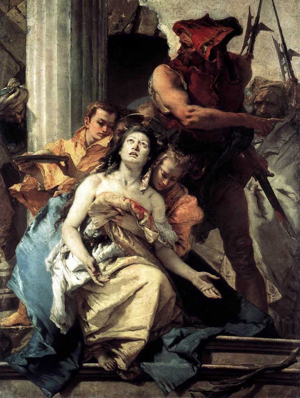5 февраля. Святая Агата (Агафия), дева и мученица. Память 3