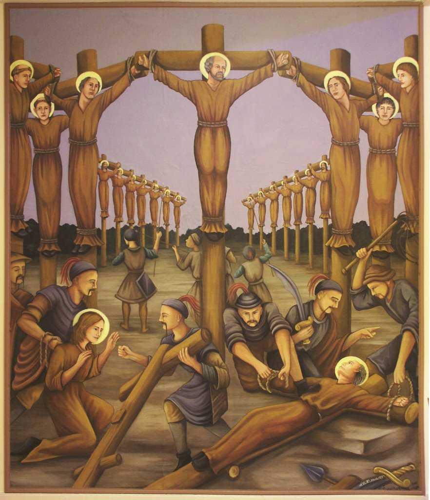 6 февраля. Святые Павел Мики, священник, и его сподвижники, мученики. Память 3